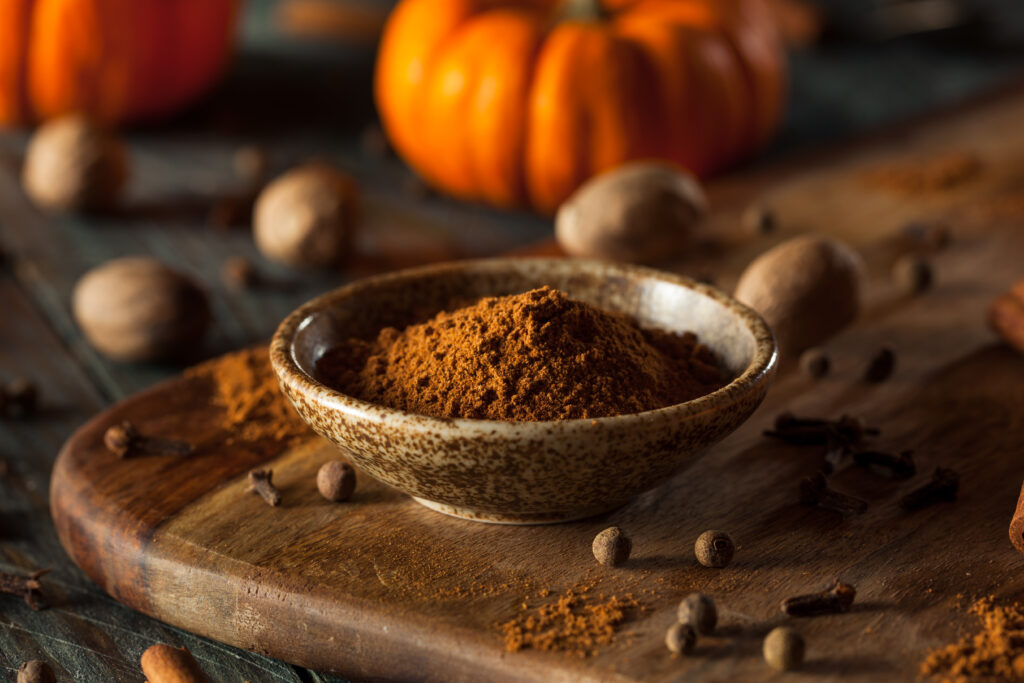 Cozy pumpkin pie spice for fall baking